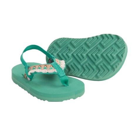 Teva Hula Girl Thong Sandals (For Infants)
