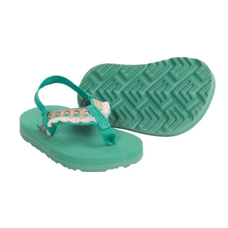 Teva Hula Girl Thong Sandals (For Infants)