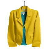 Austin Reed Wool Plush Jacket - Notch Collar (For Women)
