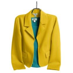 Austin Reed Wool Plush Jacket - Notch Collar (For Women)