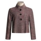 Austin Reed Silk-Rich Jacket - Pinterton Weave (For Women)