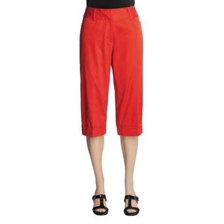 Renuar Capri Pants - Cotton Sateen (For Women)