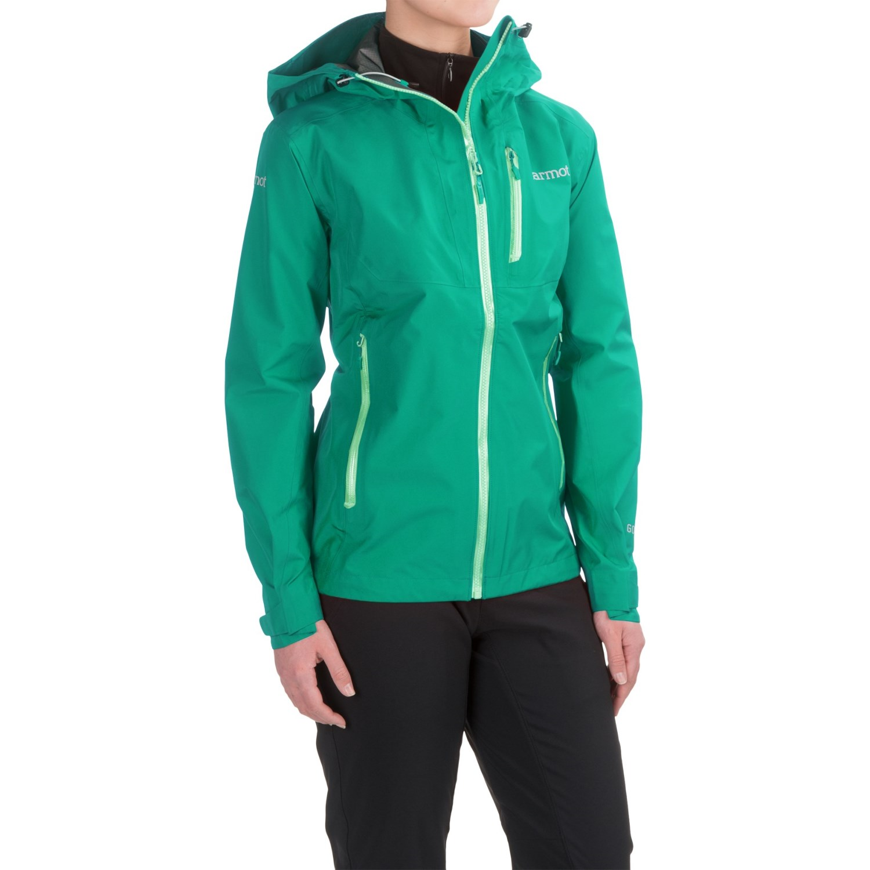 marmot speed light gore tex pro rain jacket waterproof for women. Black Bedroom Furniture Sets. Home Design Ideas