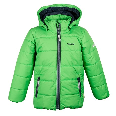 Kamik Avery Solid Jacket - Insulated (For Big Boys)