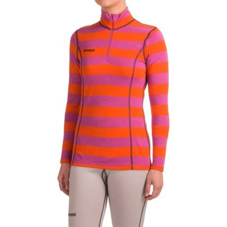 Bergans of Norway Akeleie Base Layer Top - Merino Wool, Zip Neck, Long Sleeve (For Women)