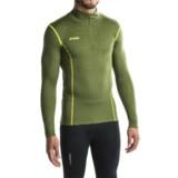 Bergans of Norway Akeleie Zip Neck Base Layer Top - UPF 30+, Merino Wool, Long Sleeve (For Men)