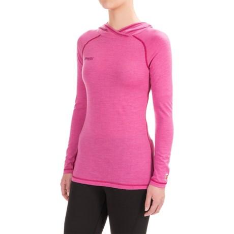 Bergans of Norway Cecilie Hooded Shirt - Merino Wool, Long Sleeve (For Women)