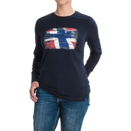 Bergans of Norway Norway Shirt - Organic Cotton, Long Sleeve (For Women)