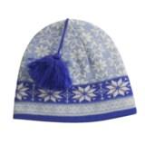 Jacob Ash Attagirl Wool Beanie Hat - Fleece Lining (For Women)