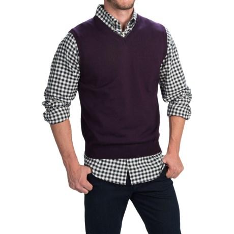 Toscano Merino Wool Vest (For Men)