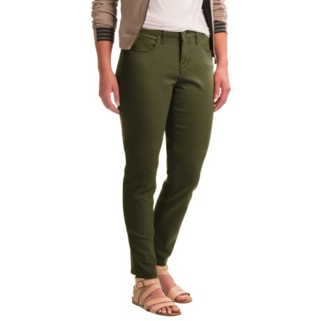 Specially made Skinny Leg Twill Pants (For Women)
