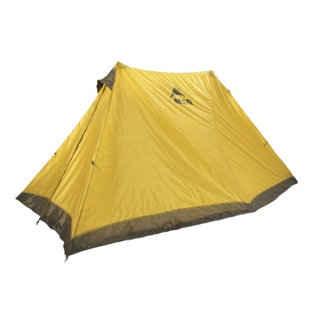 MSR Twin Sisters V2 Tarp Tent with Footprint - 2-Person, 4-Season