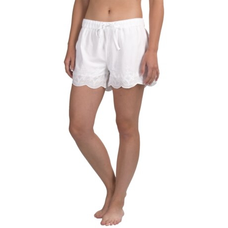 Artisan NY Embroidered Shorts (For Women)