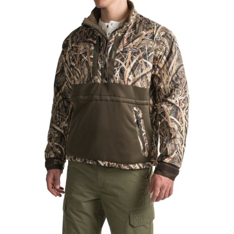 Drake LST Heavyweight Eqwader® Jacket - Waterproof, Zip Neck (For Men)