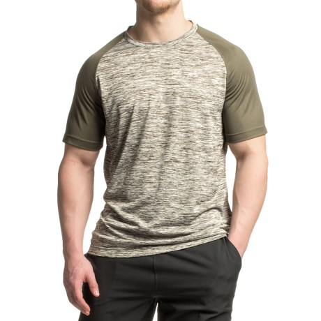 Mondetta Raglan Active T-Shirt - Short Sleeve (For Men)