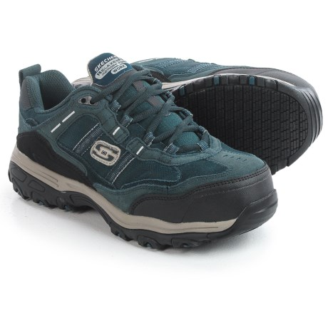 Skechers D'Lites SR Tolland Work Shoes - Composite Safety Toe (For Women)
