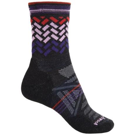 SmartWool PhD Outdoor Light Pattern Socks - Merino Wool, 3/4 Crew (For Women)
