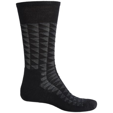 SmartWool Triangulate Socks - Merino Wool, Crew (For Men)