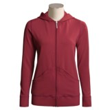 Shebeest SpaLuxe Hoodie Sweatshirt - Full Zip (For Women)
