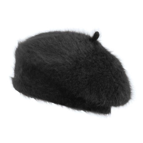 Betmar Angora Beret Hat (For Women)