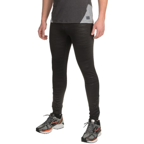 Mondetta Embossed Running Tights (For Men)