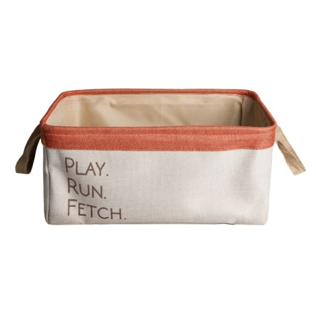 Winifred & Lily Home Play, Run, Fetch Dog Toy Bin