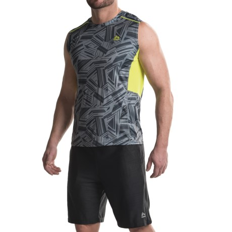 RBX Print Shirt - Sleeveless (For Men)