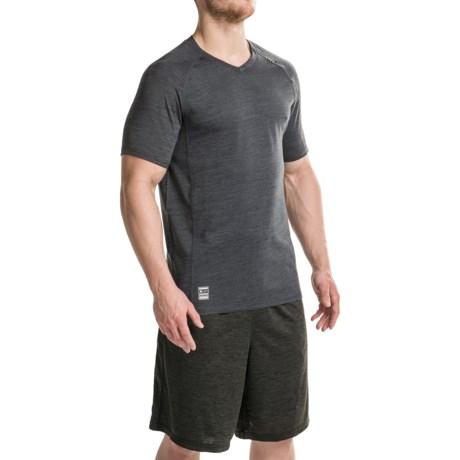 RBX XTrain Heathered Shirt - V-Neck, Short Sleeve (For Men)