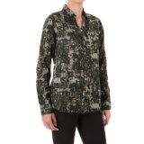 JAG Roan Extra-Long Shirt - Hidden-Button Front, Long Sleeve (For Women)