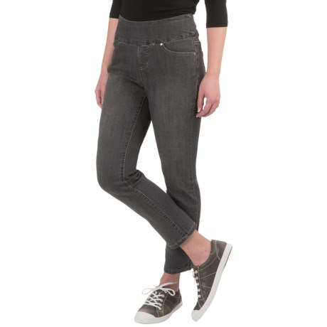 JAG Amelia Comfort Denim Ankle Jeans - Pull-On, Slim Fit (For Women)