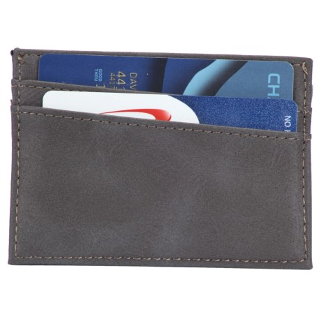 1 Voice Force RFID-Blocking Card Holder - Leather