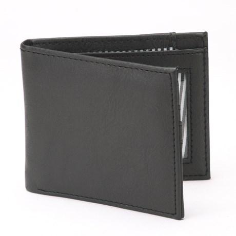 1 Voice Vault RFID Bi-Fold Wallet - Leather