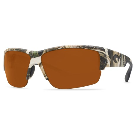 Costa Hatch Camo Sunglasses - Polarized 580P Lenses