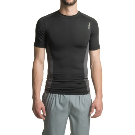 Reebok Sipes Compression Shirt - Short Sleeve (For Men)