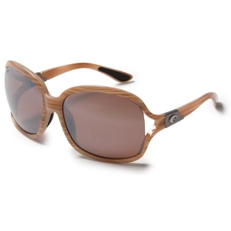 Costa Boga Sunglasses - Polarized 580P Mirror Lenses (For Women)