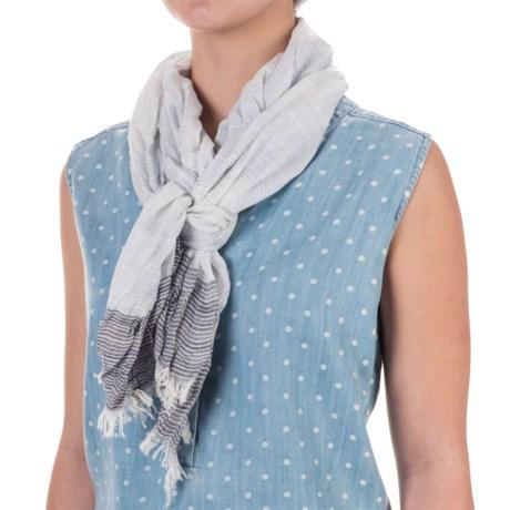 Aventura Clothing Jessica Striped Scarf - Viscose (For Women)