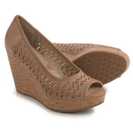 Adrienne Vittadini Carilena Wedge Sandals - Leather (For Women)