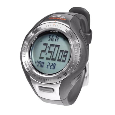 High Gear Alterra Wrist-Top Computer Watch - Altimeter, Barometer, Compass (For Men and Women)