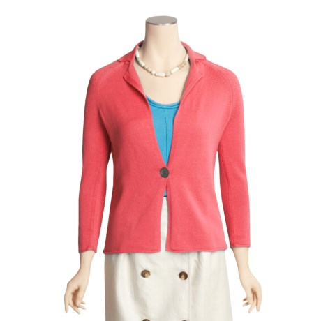 Kinross Cashmere Kinross Cotton Knit Blazer (For Women)