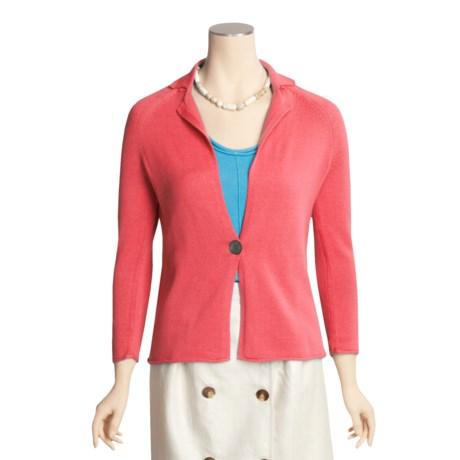 Kinross Cotton Knit Blazer (For Women)