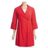 Katherine Barclay Trench Coat - Empire Waist, Bell Sleeve (For Women)