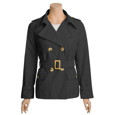 Katherine Barclay Trench Coat - Double-Breasted (For Women)