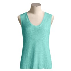 Two Star Dog Tape-Yarn Tank Top - Scoop Neck (For Women)