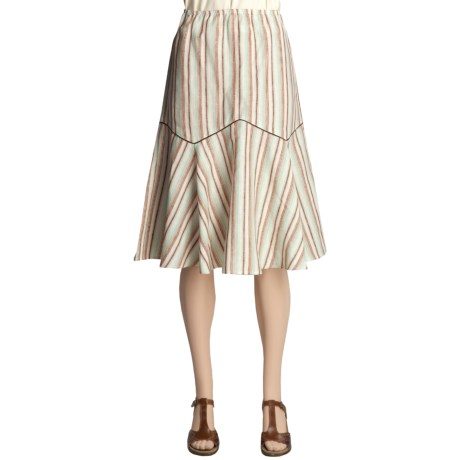 Two Star Dog Imported Linen Skirt - Yard-Dyed (For Women)