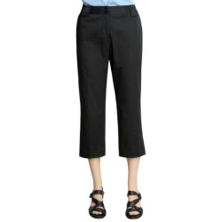 Avalin Stretch Cotton Crop Pants (For Women)