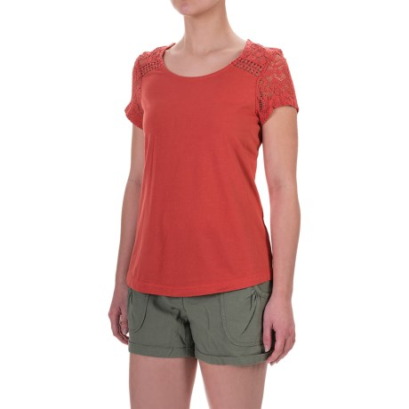Aventura Clothing Wyatt Shirt - Organic Cotton-Modal, Short Sleeve (For Women)