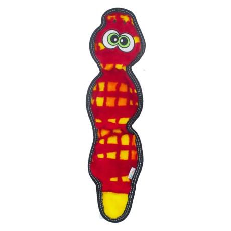 Outward Hound Invincibles Tough Seamz Snake Dog toy - 3 Squeaker