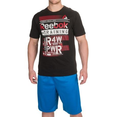 Reebok Raw Power T-Shirt - Short Sleeve (For Men)