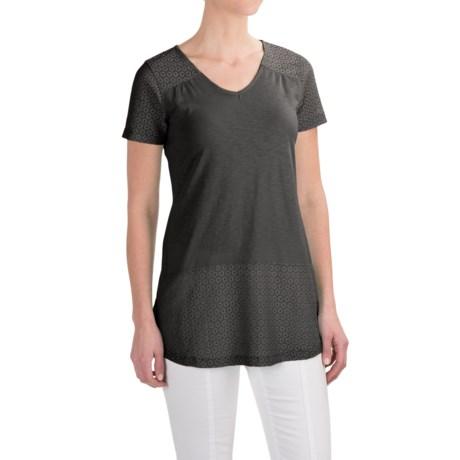 Aventura Clothing Allura Shirt - Organic Cotton-Modal, Short Sleeve (For Women)