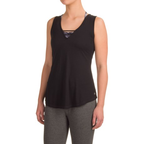 Kyodan Strappy Singlet Shirt - Sleeveless (For Women)